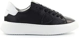 Luxury Fashion | Philippe Model Women BTLDV005 Black Leather Sneakers | Spring-summer 20