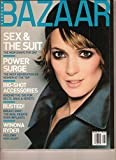 Harper s Bazaar August 2000:Sex and the Suit;Winona Ryder;Azzedine Alaia