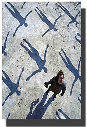 Refosian Muse Alben Cover Poster Simulationstheorie Das 2. Gesetz Drohnen Kunst Poster Druck Leinwand Bilder Wohnzimmer Kunstwerk Raum Bilder Wohnkultur Einzigartiges Geschenk -50x70cm Kein Rahmen
