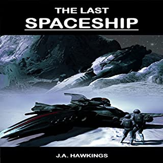 The Last Spaceship audiobook cover art