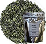 MeiMei Fine Teas Top Grade Anxi Floral Tie Guan Yin Oolong Tea - Iron Goddess of Mercy Chinese Loose Leaf Tea - Single Origin High Mountain Ecologically Grown - Energetic Very Fragrant (4 oz)