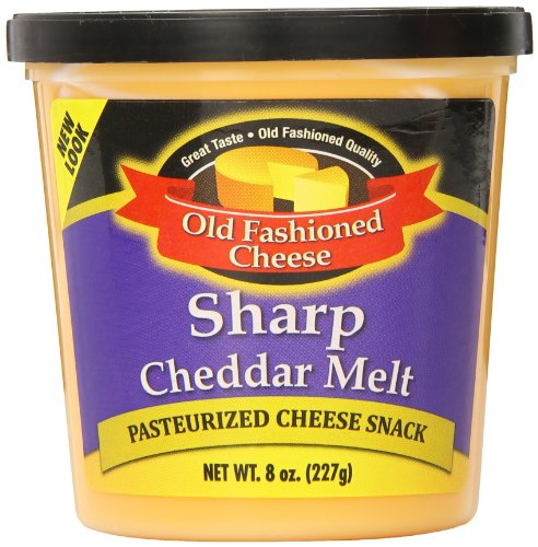 Old Fashioned Cheese Cheddar Melt, 8 Ounce (Pack of 12)