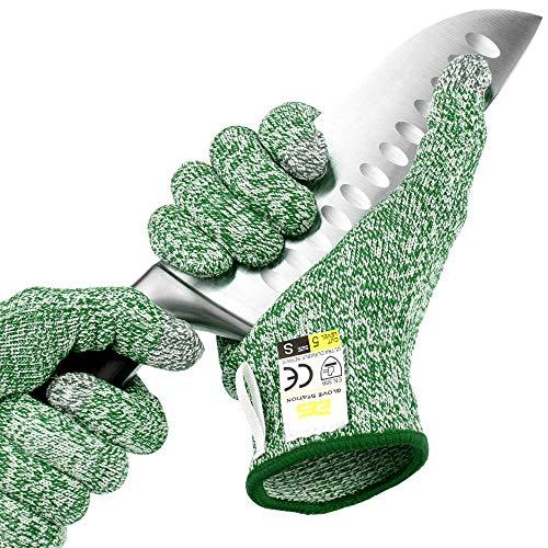 Glove Station Ultra Durable Series Schnittfeste Handschuhe – High Performance Level 5 Schutz, Lebensmittelqualität (Medium, Mintgrün)