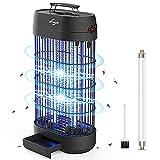 VIFLYKOO Lámpara Antimosquitos,18W UV Lámpara Anti Mosquitos Destructora de Insectos eléctrica Sin químicos tóxicos,Trampas para Insectos Matamoscas Area efectiva 80㎡ para Interior ………