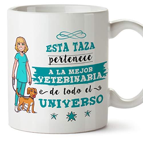 MUGFFINS Taza Veterinaria (Mejor del Universo) - Regalos Originales y Divertidos de Veterinaria