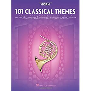 101 Classical Themes -For Horn- (Book): Noten, Sammelband für Horn