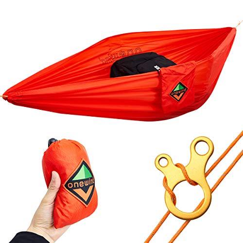 onewind Gear Hammock Mini Storage Camping Accessories Hammock Portable Outfitters Underbelly Gear Sling Hammock,Red