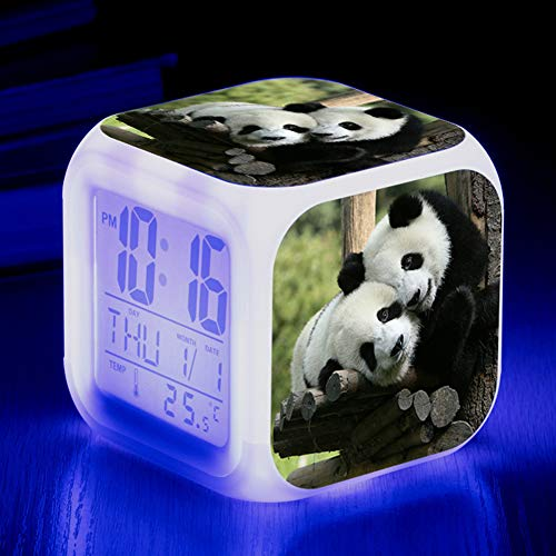 CLX versie eenvoudige wekker met digitale uit-Bedside Digital-display helderheid LED dimmer