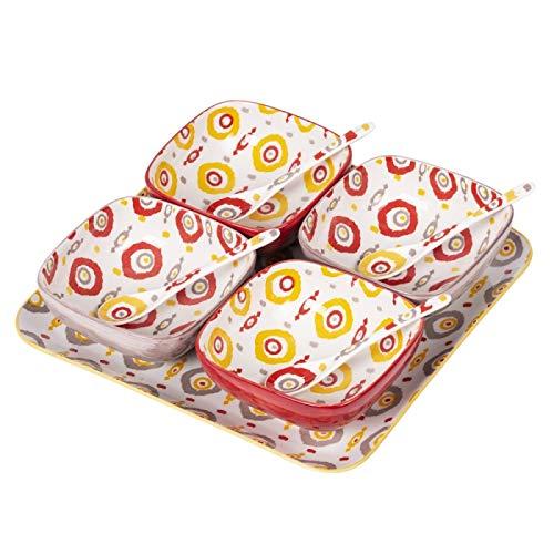 Table Passion - Service apéritif 9 pièces apache