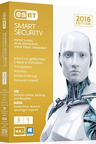 günstig ESET Smart Security 2016: 3 Computer (Mini-Box) Vergleich im Deutschland