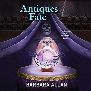 Antiques Fate audiobook cover art