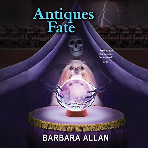 Antiques Fate audiobook cover art