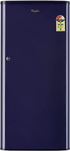 Whirlpool 190 L 3 Star Direct-Cool Single Door Refrigerator (WDE 205 CLS 3S, Blue) 1