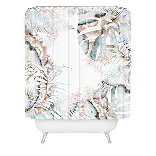 Deny Designs Iveta Abolina Honey It's Nap Time Duschvorhang, 182,9 x 175,9 cm, Mehrfarbig