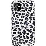 hCase kompatibel mit iPhone 11 Hülle – Leopard,
