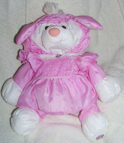 1986 Puffalumps 15' Pink Lamb Puffalump with Removeable Dress