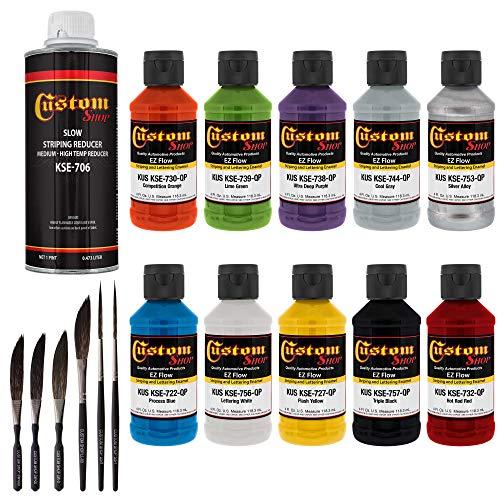 Price comparison product image Custom Shop Lettering Enamel / Pinstripe 10 Paint Colors
