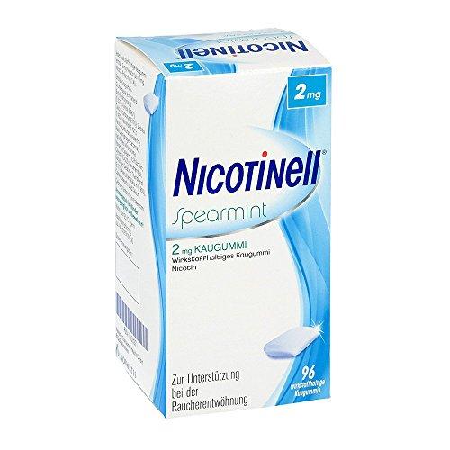 NICOTINELL Kaugummi Spearmint 2 mg 96 St