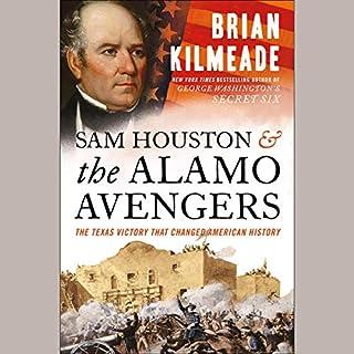 Sam Houston and the Alamo Avengers audiobook cover art