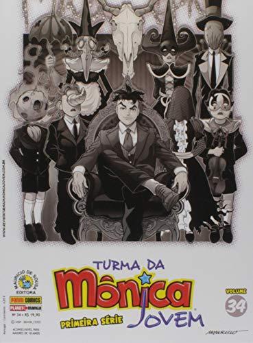 Turma Da Mônica Jovem: Primeira Série - Volume 34: Edições 74, 75 e 76