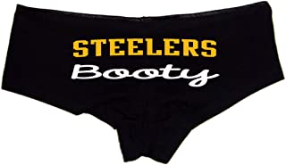 Sexy Girl Rock Steelers Booty Booty Shorts