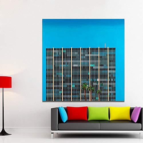 Frameloze canvas kunst landschap en architectonische besparingen en leen muur foto's, woonkamer, woondecoratie <> 40x60cm
