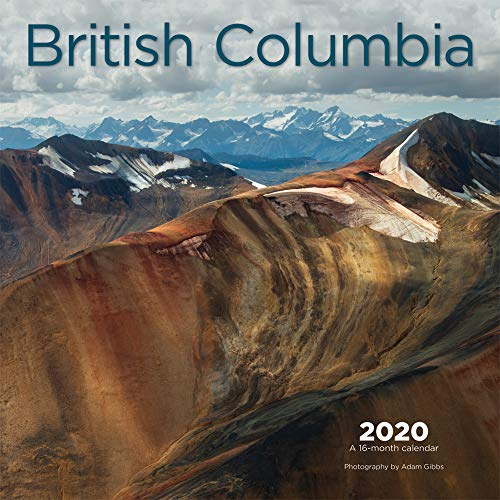 BROWNTROUT CA: British Colombia 2020 Square Wall Calendar