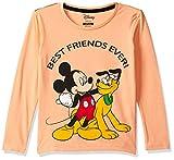 Mickey & Friends Boys' T-Shirt (MF1GBT1994FS Peach 2/3)