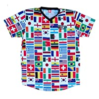 Image: Ultras World Cup 2014 32 Flags Soccer Jersey | Comfy and wrinkle-free