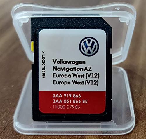 SD Karte VW GPS West Europe 2020 V12 - RNS 315