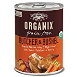 Castor & Pollux Organix Grain Free Butcher & Bushel Organic Chicken Wing & Thigh Dinner in Gravy Adult Canned Dog Food, 12.7-oz case of 12