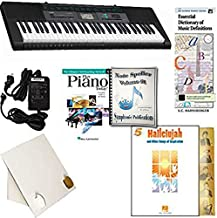 Homeschool Music - Piano Pack (Hallelujah) – W/Casio CTK 2550 Keyboard, Adapter, learn 2 Play DVD/Book, Symphonic Note Speller Vol. 1 & All Learning Essentials