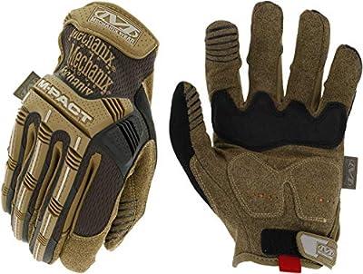 Mechanix Wear: M-Pact Work Gloves (Large, Brown)