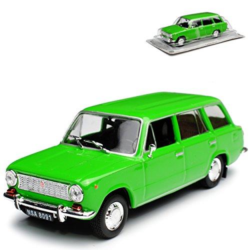 Unbekannt Lada 1200 1500 VAZ was 2102 Shiguli Kombi Grün 1971-1988 1/43 Modellcarsonline Modell Auto