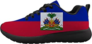 Owaheson Boys Girls Casual Lace-up Sneakers Running Shoes Cape Verde Flag