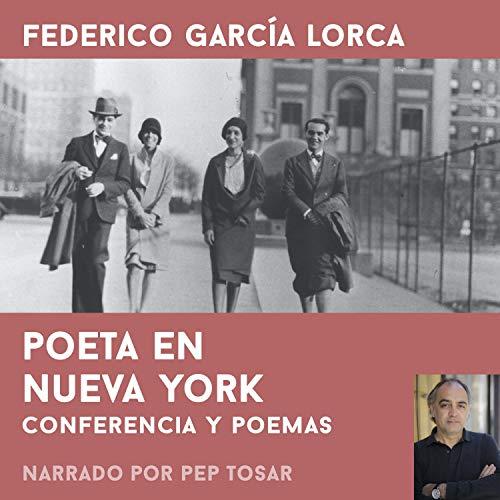 Diseño de la portada del título Poeta en Nueva York