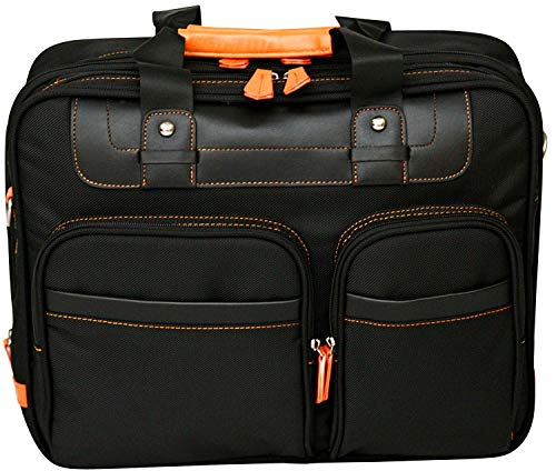 15.4' Laptop Bag Briefcase Business Case Computer with Shoulder Strap