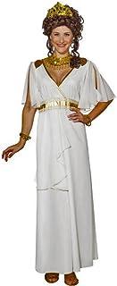 fb01d8e3e7 ORLOB KARNEVAL GmbH Costume da donna Abito lungo dea greca bianco Antico  carnevale romano (40