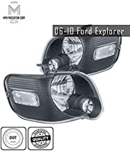 MPH 06-10 Explorer OEM Driver & Passenger Replacement Headlights Lamps Assembly