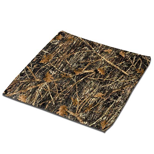 CSDGHRHX Autumn Camoflauge Printed Towels,Ultra Absorbent Hand Towels Wash Cloths Washcloths,Dish Towel Square Towel for Bathroom,Kitchen,Hotel Spa(13'X13')
