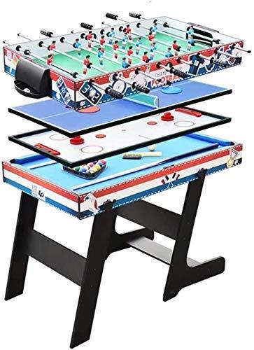 Vier-in-one Multifunctionele Tafel for kinderen ouder dan 5 jaar oud Kinderen football Machine Biljart Tafeltennis Ice Hockey Tafel Multiplayer Interactieve Table Game Ball Lijstreeks dongdong