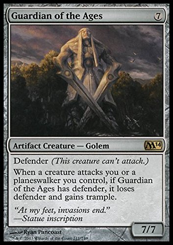 Magic The Gathering - Guardian of The Ages (211/249) - Magic 2014