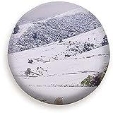 Olive Croft Copertura per Pneumatici di Ricambio per campi di Pecore ricoperti di Neve Blu a Prova di Polvere per rimorchi, Camper, SUV, Ruote per Camion 14-17inch