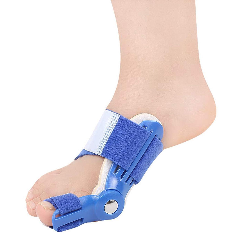 魔女偽善者がっかりしたつま先セパレーターは、ヨガのエクササイズ後のつま先重なりの腱板ユニバーサル左右ワンサイズ予防の痛みと変形を防ぎます,ブルー