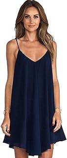 Erotic underwear-ZY Lingerie Ladies Sexy Night Dress Sleeveless Nighties V-Neck Nightgown Nightdress Sleepwear Nightwear f...