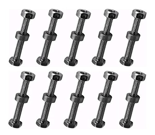 The ROP Shop (10) Shear PINS & Nuts for AYP Sears Craftsman 9524MA Snowblowers Snowthrowers