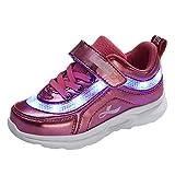 Unisex pour Garçons Filles Couleurs de LED Lumineuse Chaussures Securité Mode...