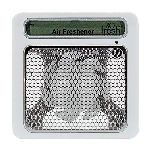 Fresh Products myfresh Dispenser, Air Freshener, Compact Design, Motion Sensor, White/Gray