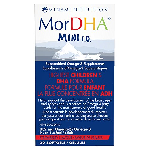 Minami Nutrition MorDHA Mini IQ 30 cápsulas blandas 30 g
