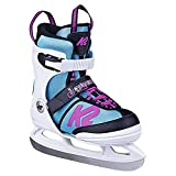 K2 Skates Juno Ice Girls Skates Size 29-34-25D0304.1.1.S Ice Skates White/Light Blue